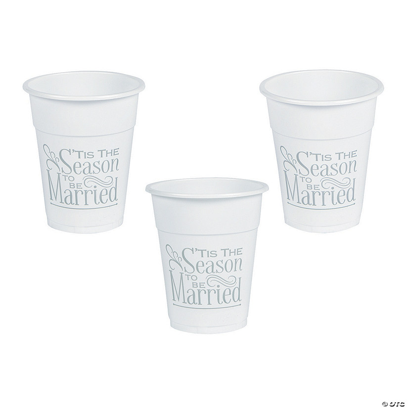 'Tis the Season Plastic Tumblers