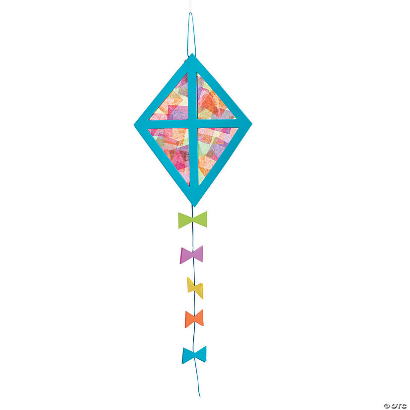 Tissue Paper Kite Craft Kit