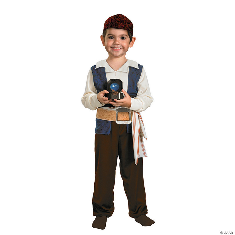 sc 1 st  Oriental Trading & Toddler Boyu0027s Pirates of The Caribbean™ Jack Sparrow Costume - 3T-4T