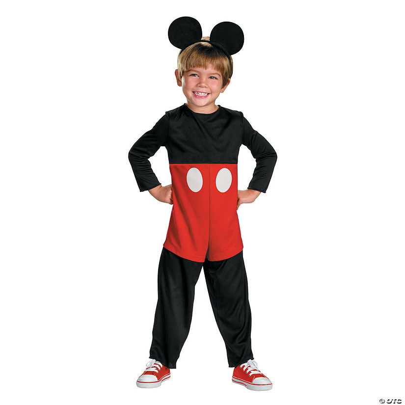 bff8bb162ee2 Mickey Mouse Costume Boys   DIY Mickey Mouse Costume. I Did This For ...