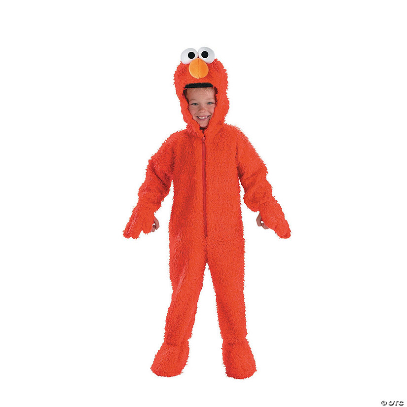 Toddler Deluxe Plush Sesame Street™ Elmo Costume
