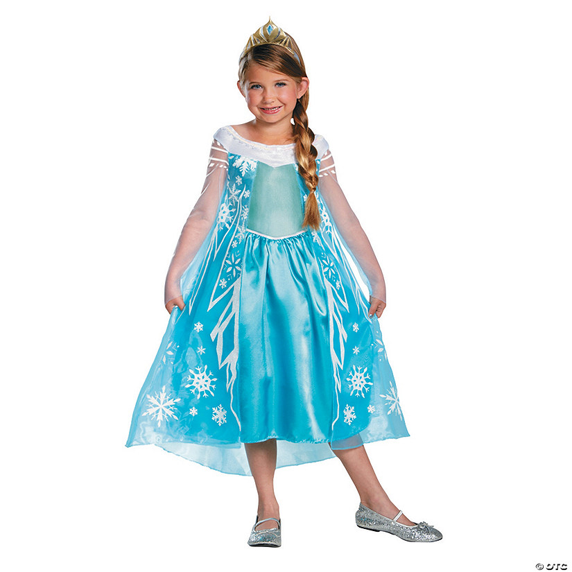 Toddler Girl's Deluxe Disney's Frozen™ Elsa Costume - 3T-4T