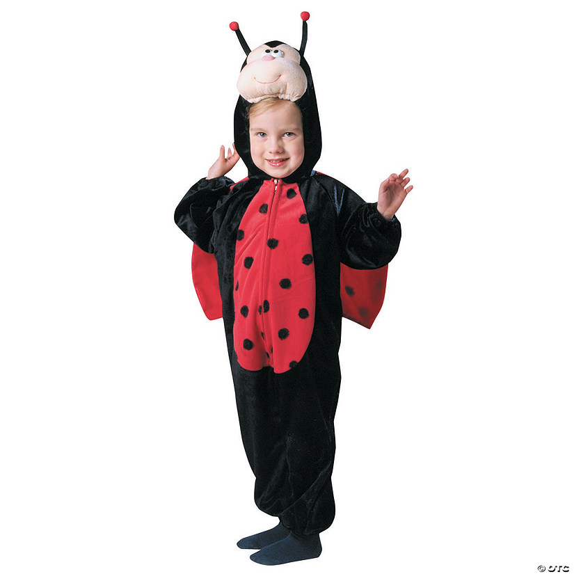 Toddler Girl's Plush Ladybug with Wings Costume