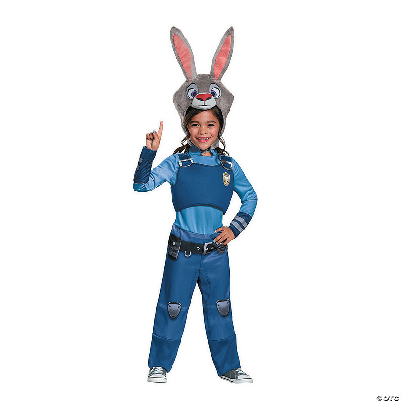 Toddler Girl's Disney's Zootopia™ Judy Hopps Costume - 3T-4T