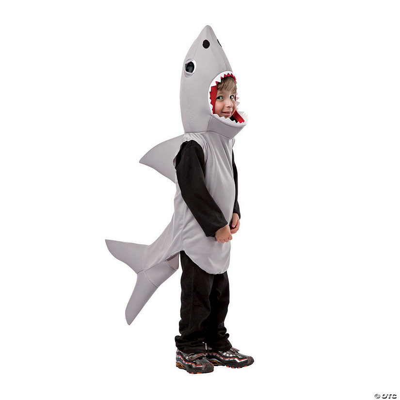 Toddler Sand Shark Halloween Costume - 3T - 4T
