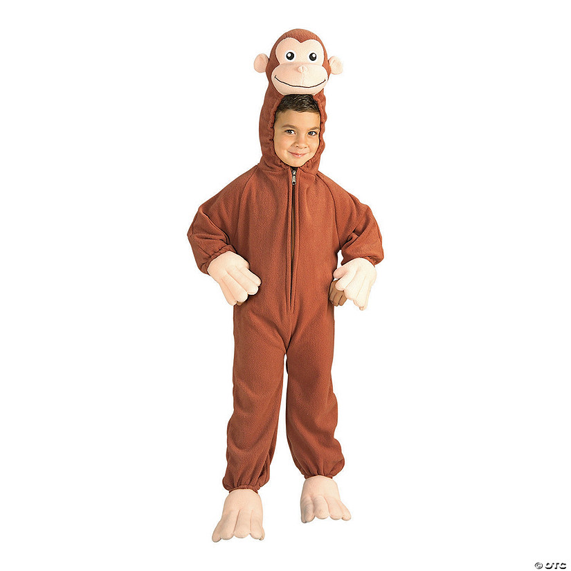 Toddler/Kid's Deluxe Curious George Costume