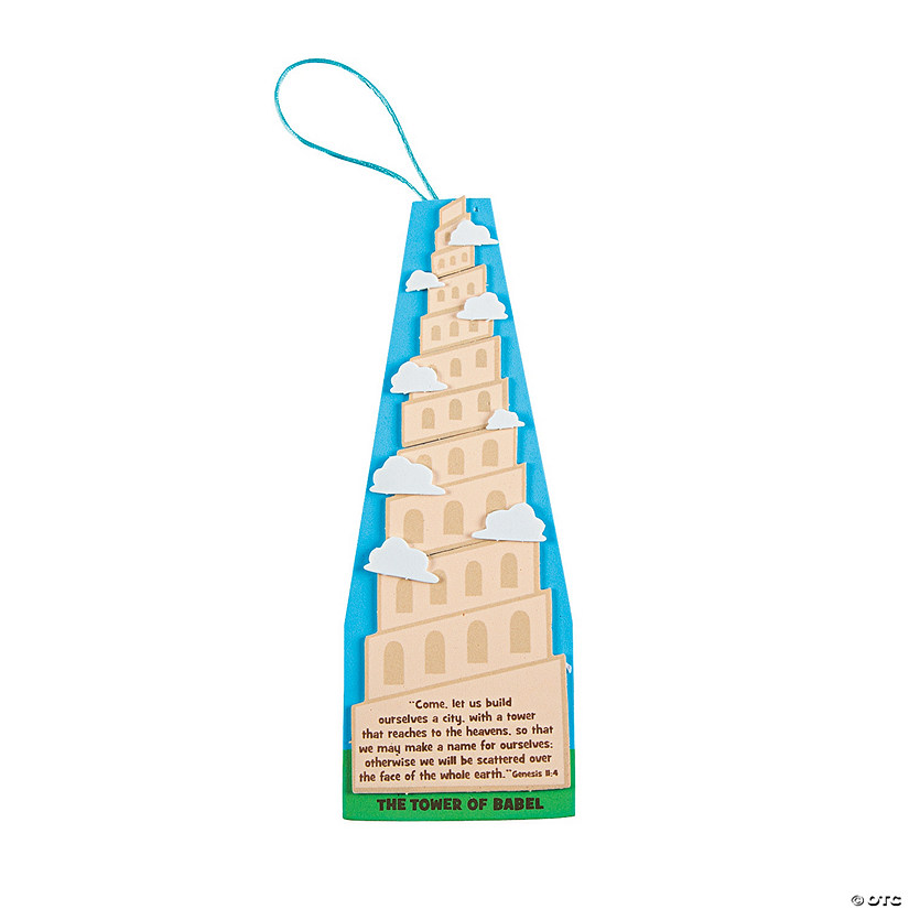 Tower of Babel Sign Craft Kit