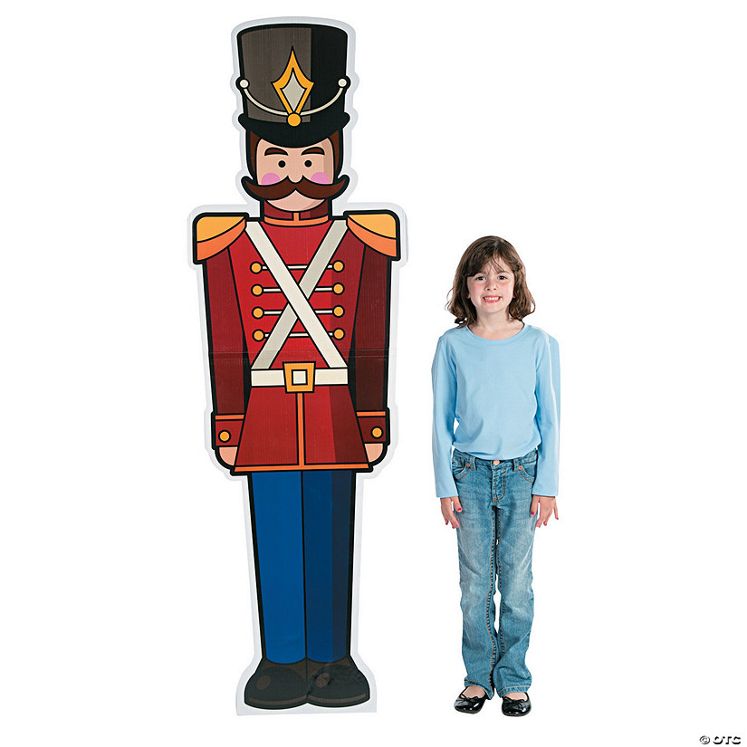 Toy Soldier Cardboard Stand-Up