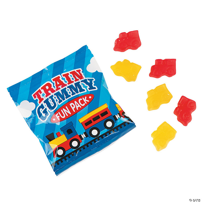 Train Gummy Candy Fun Pack
