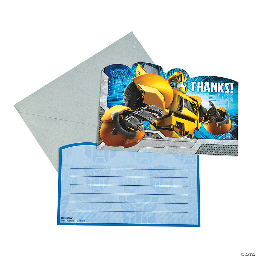 Transformers™ Thank You Cards