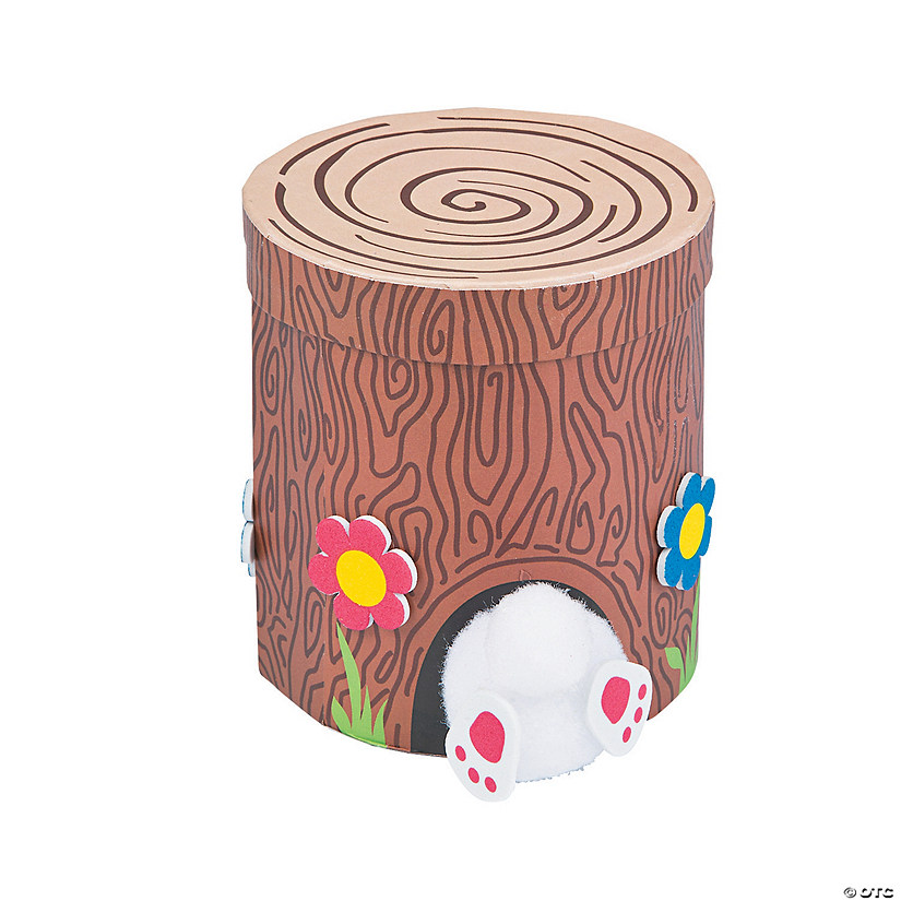 Tree Stump Bunny Box Craft Kit