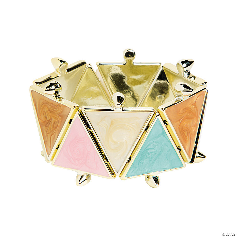 Triangle Pastel Bracelet Craft Kit