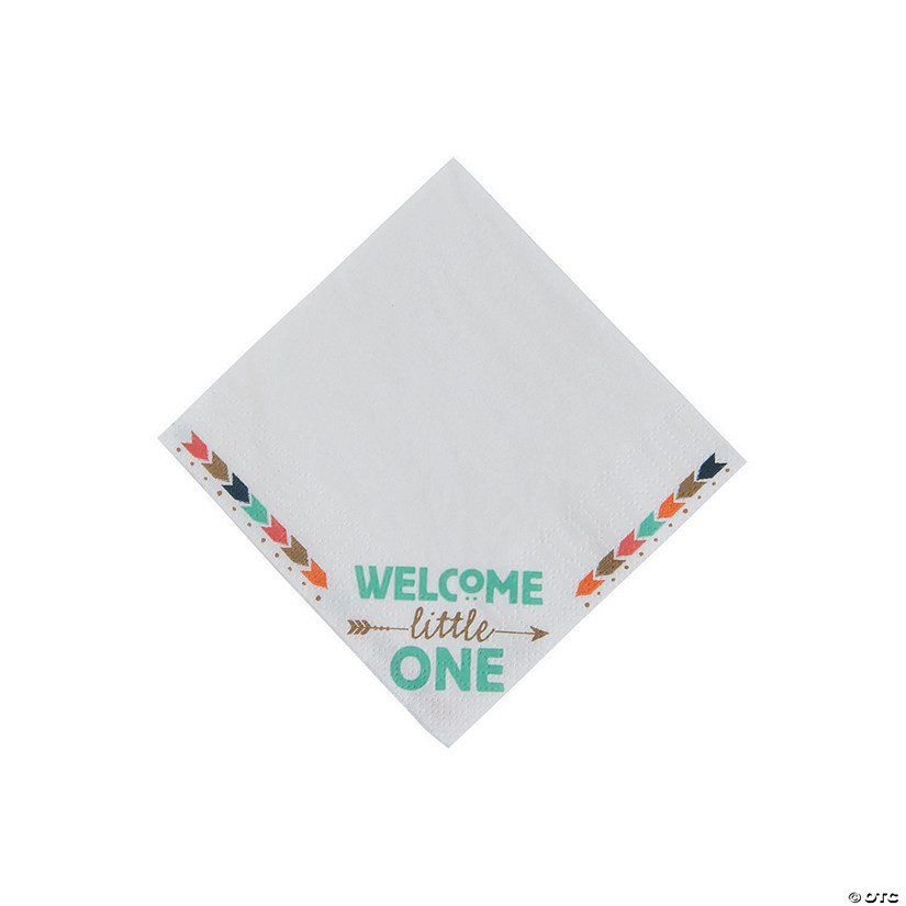 Tribal Baby Shower Beverage Napkins