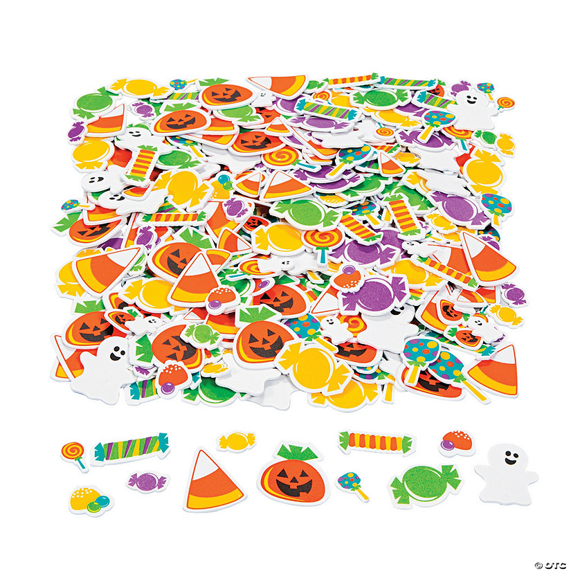 Tricks Or Treats Foam Stickers