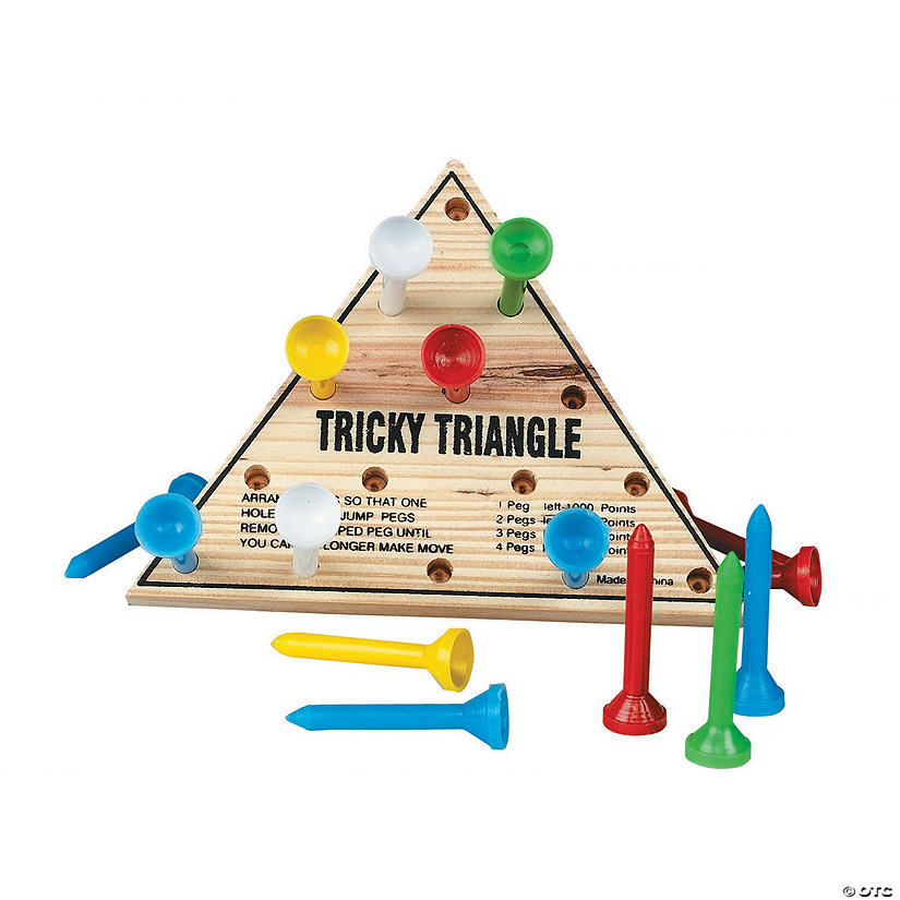 Tricky Triangle Peg Game