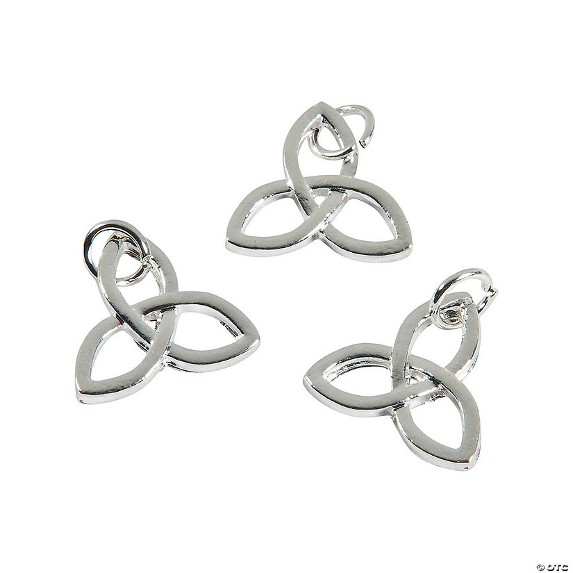 Trinity Knot Charms - 17mm