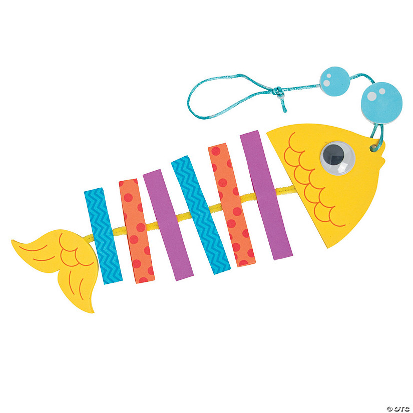 Tropical Fish Mobile Craft Kit