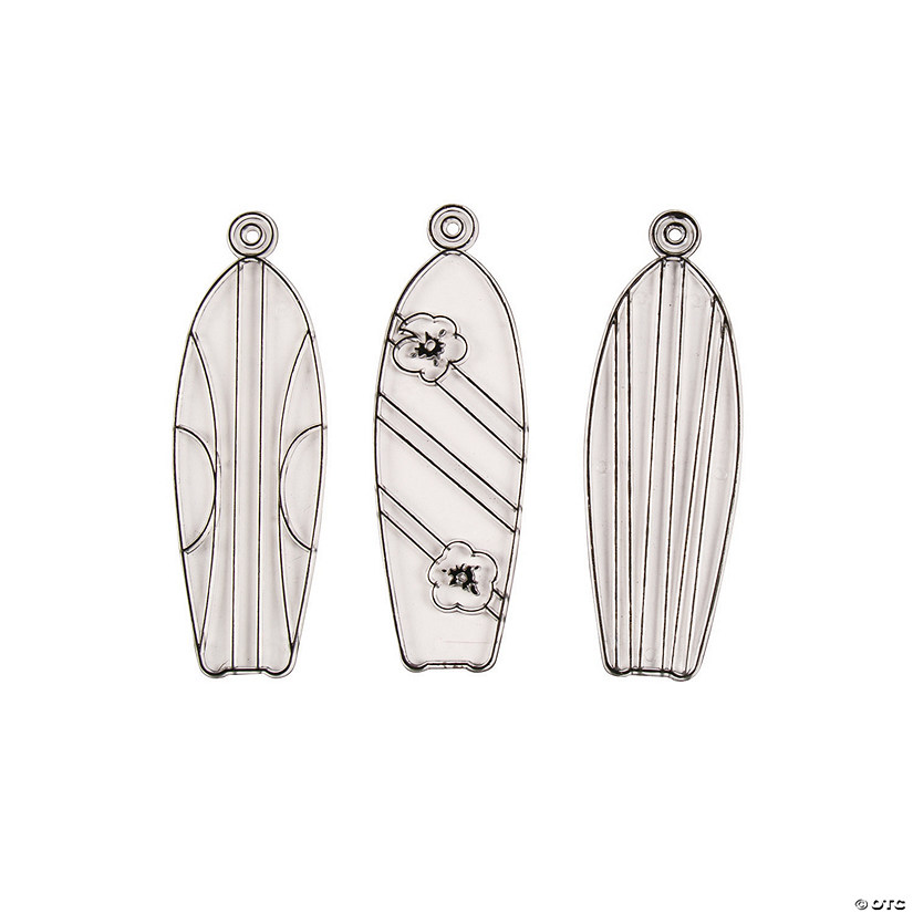 Tropical Surfboard Suncatchers