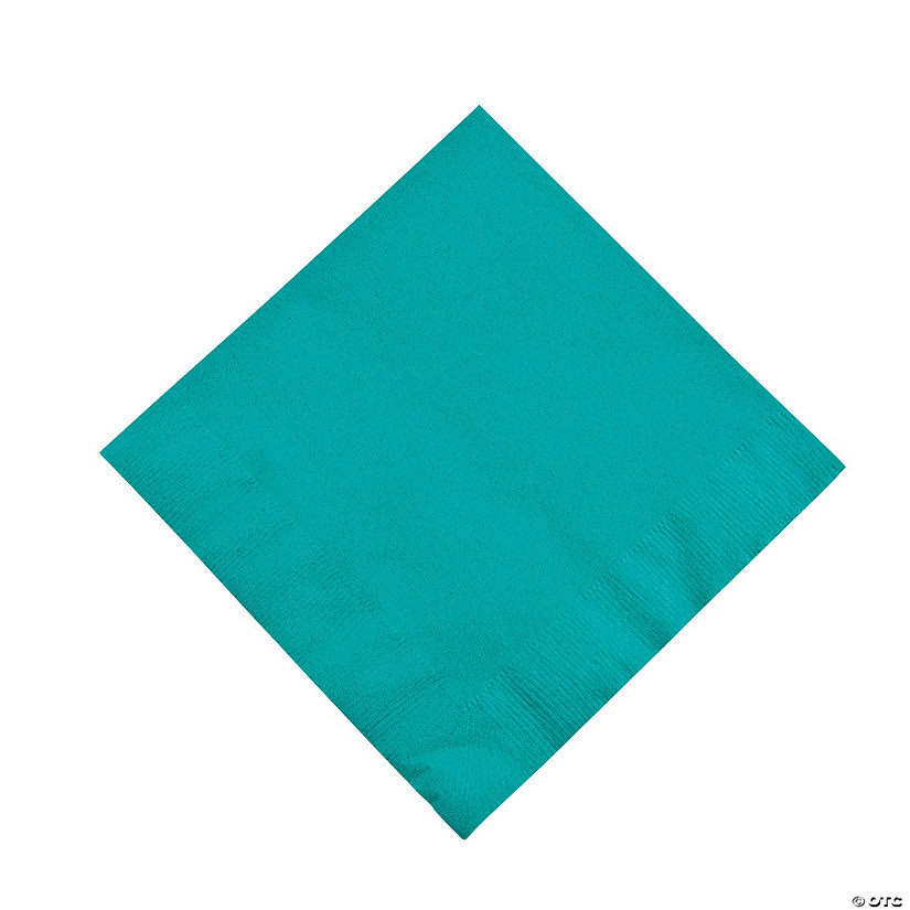 Tropical Teal Luncheon Napkins