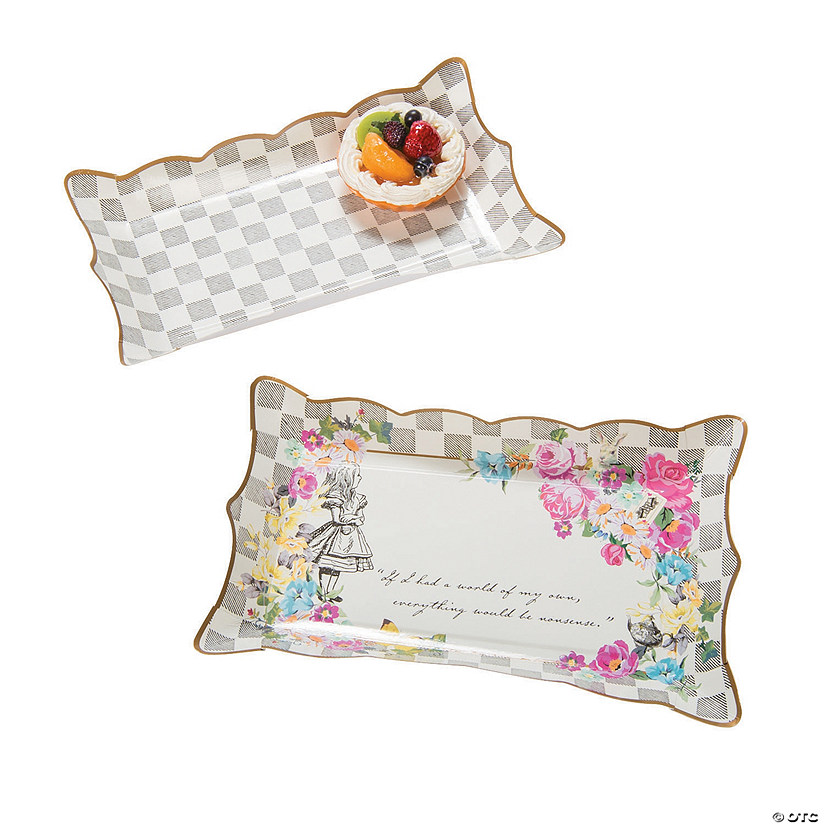 Truly Alice Paper Party Platters