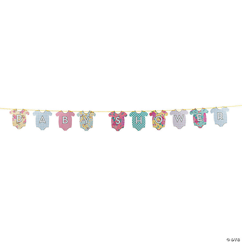 Truly Baby Shower Garland