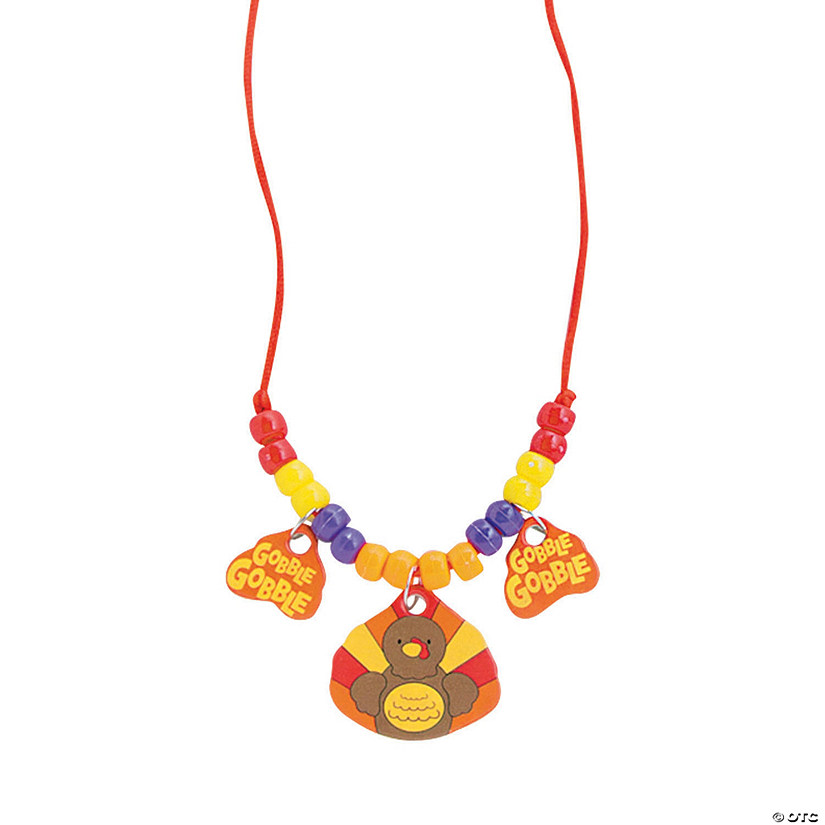 Turkey Beaded Necklace Craft Kit