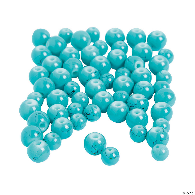 Turquoise Beads - 6mm