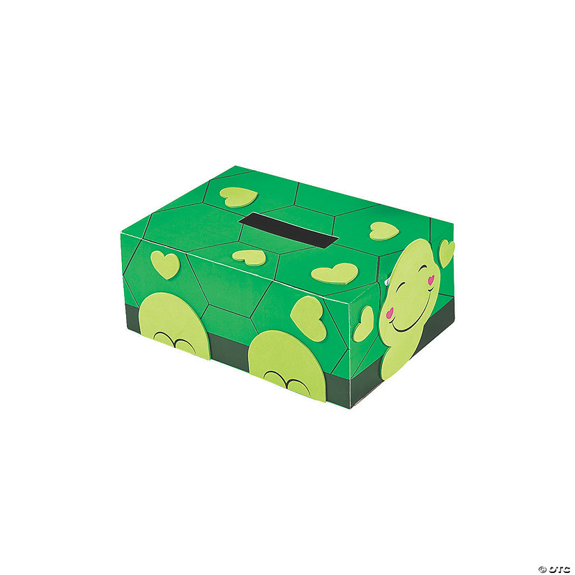 Turtle Valentine Card Holder Box Craft Kit