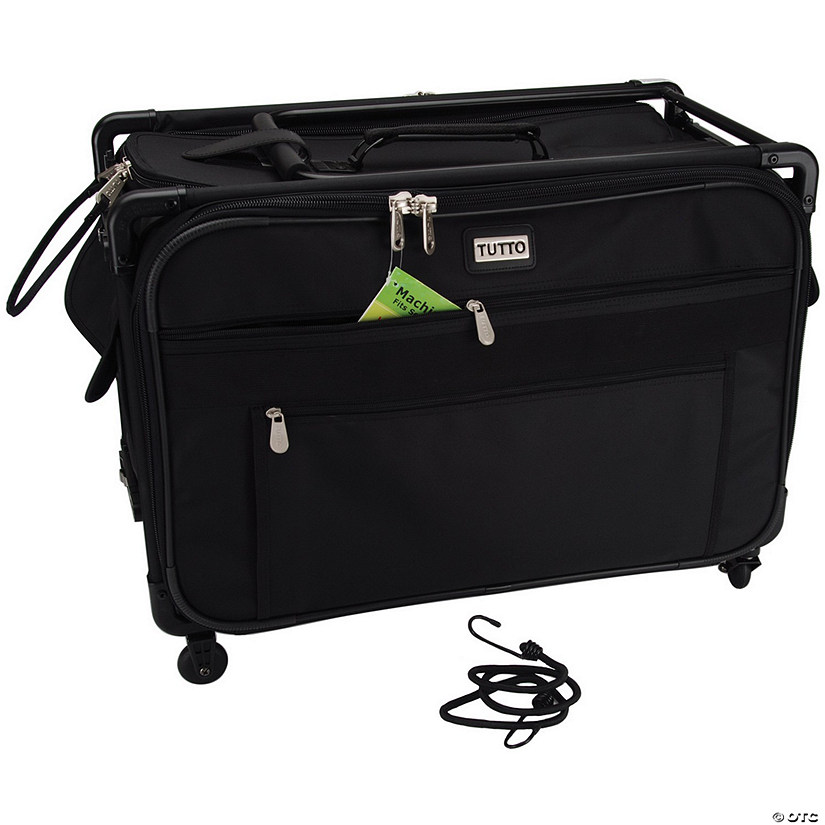TUTTO Machine On Wheels Case- Black