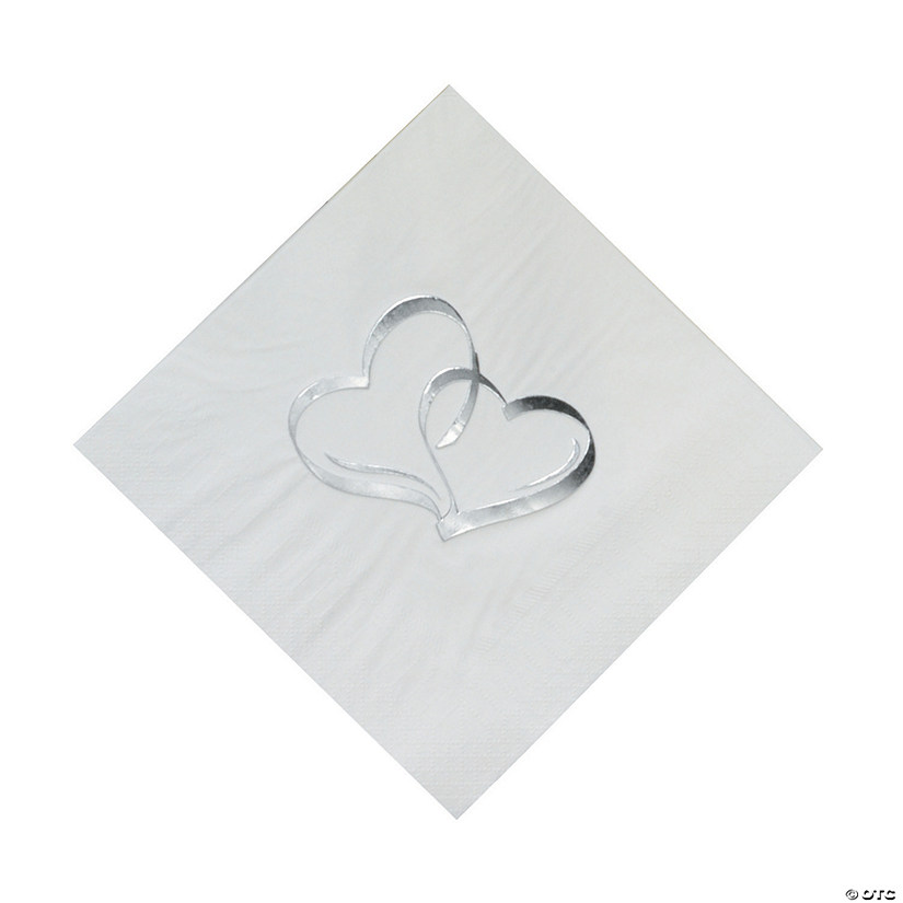 Two Hearts Luncheon Napkins