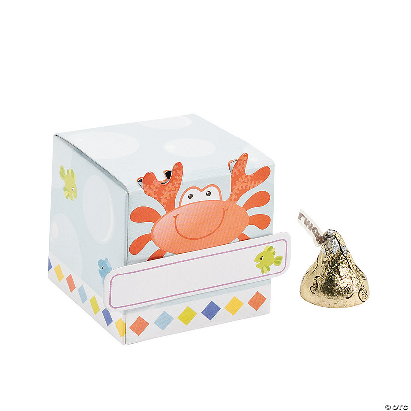 Under the Sea Boy Favor Boxes