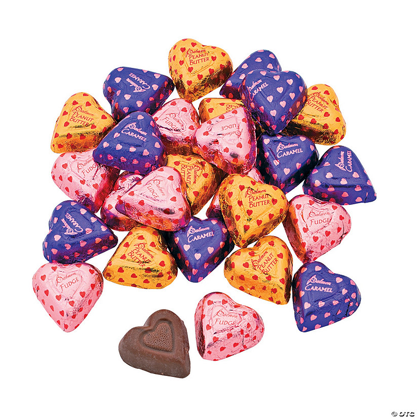 Valentine Filled Chocolate Candy Hearts