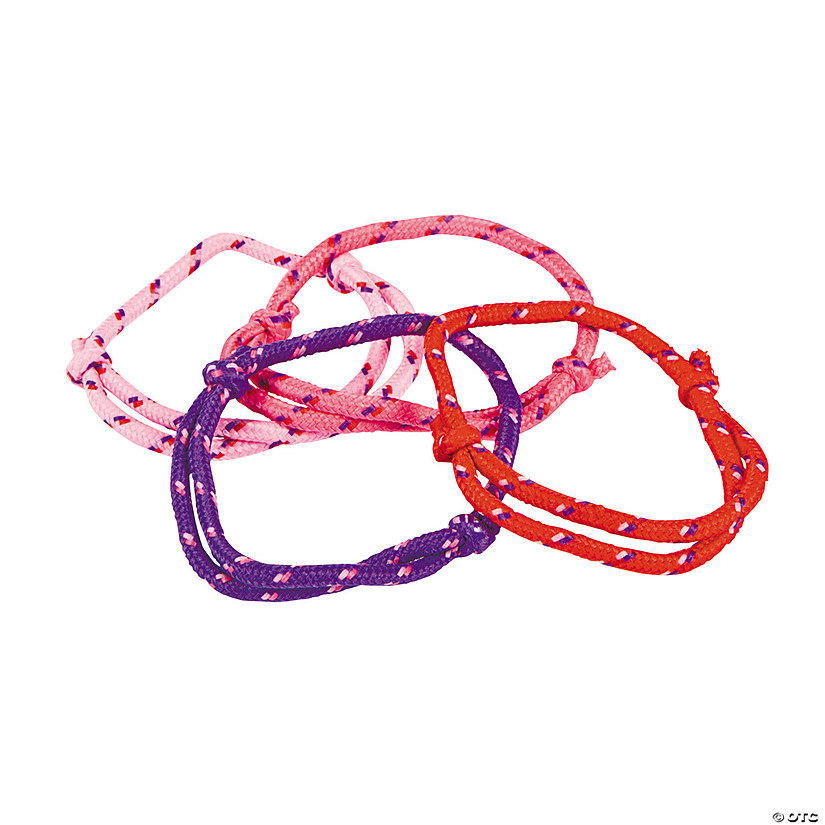Valentine Friendship Rope Bracelets