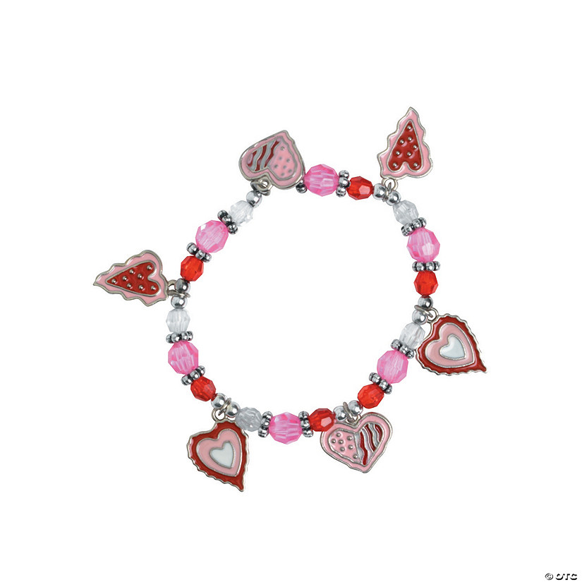 Valentine Heart Charm Bracelet Craft Kit