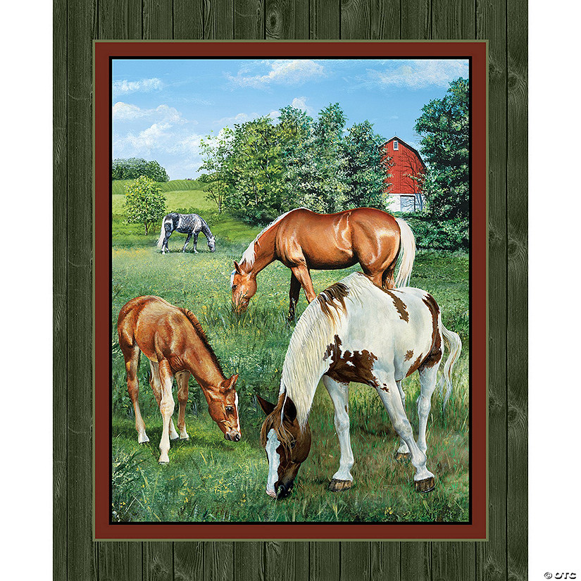 Valley Crest 15Yd D/R-Horse Wallhanging