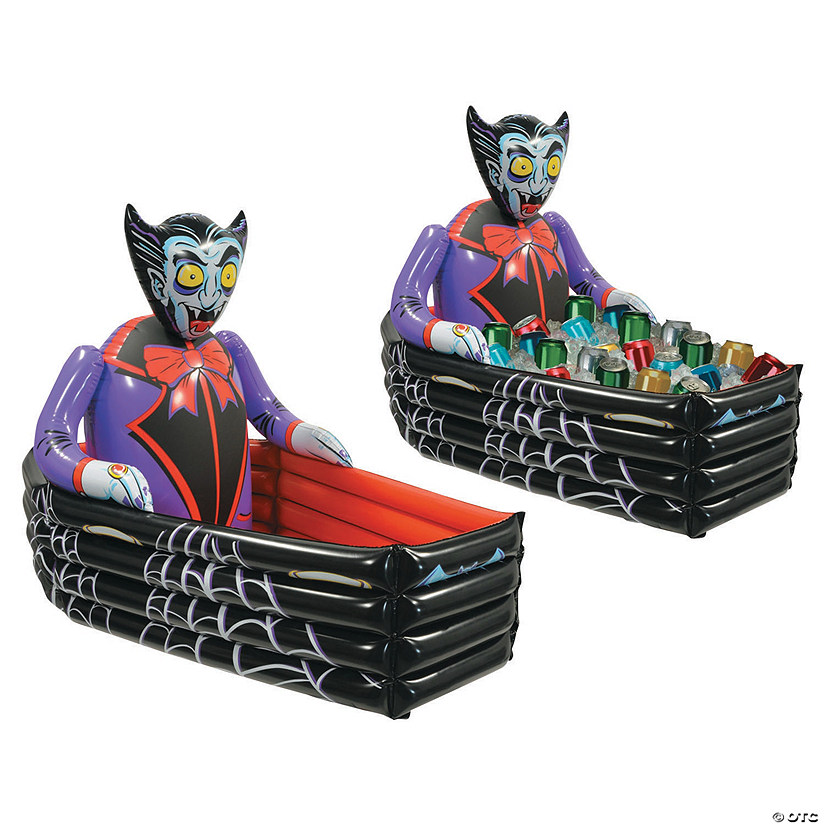 Vampire Coffin Inflatable Cooler