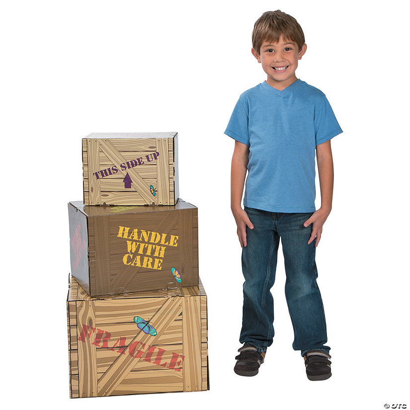 Walk His Way Crate Cardboard Stand-Ups