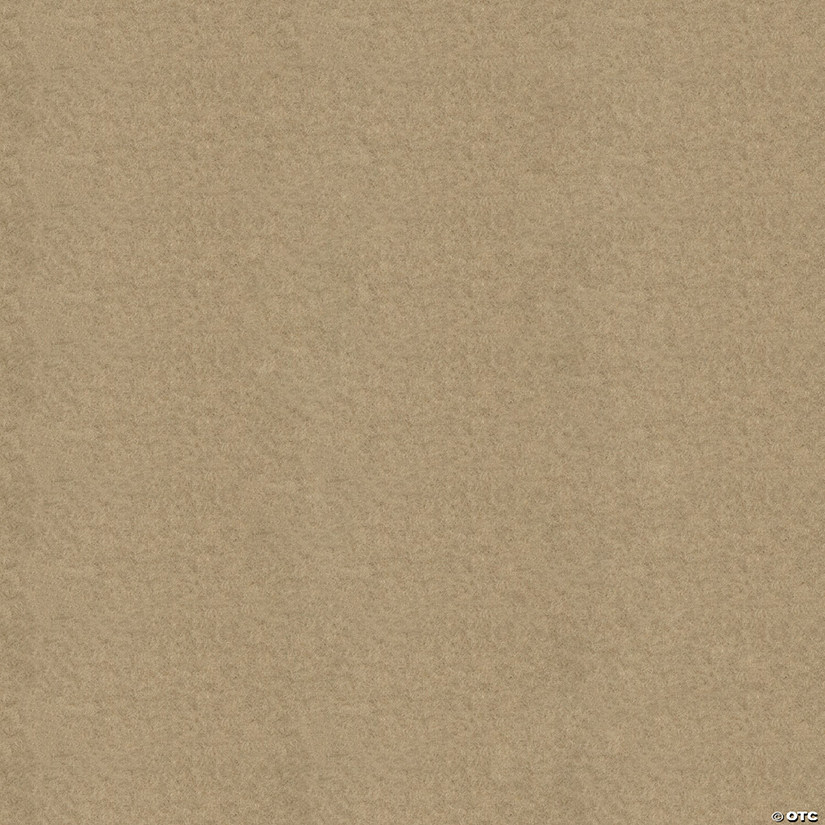 Warm Fleece Fabric 3yd Cut-Khaki Tan