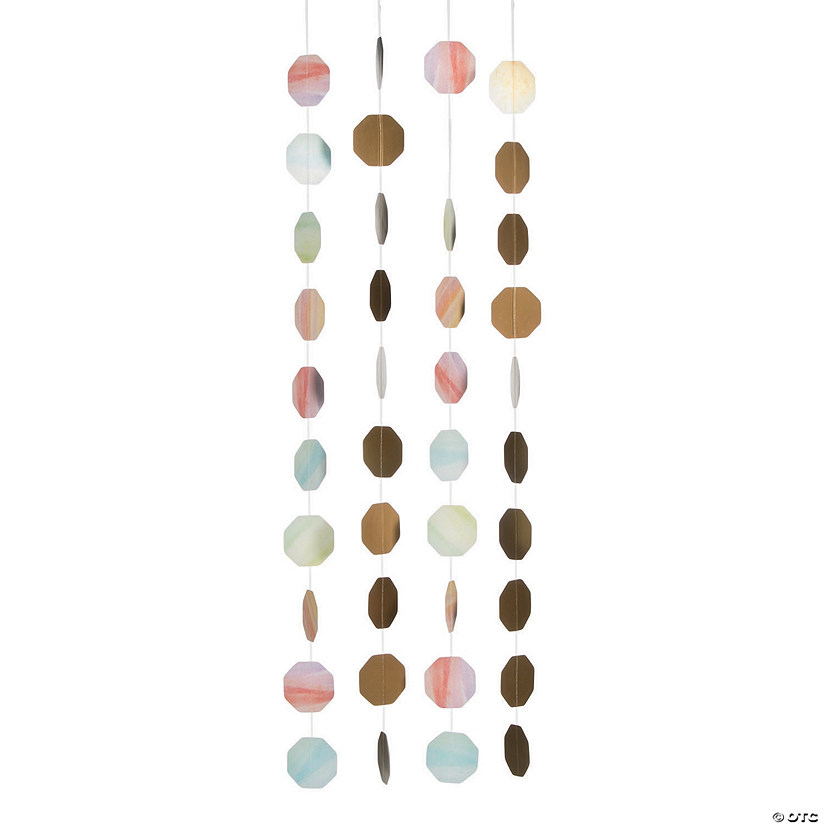 Watercolor Rainbow Hanging Decorations