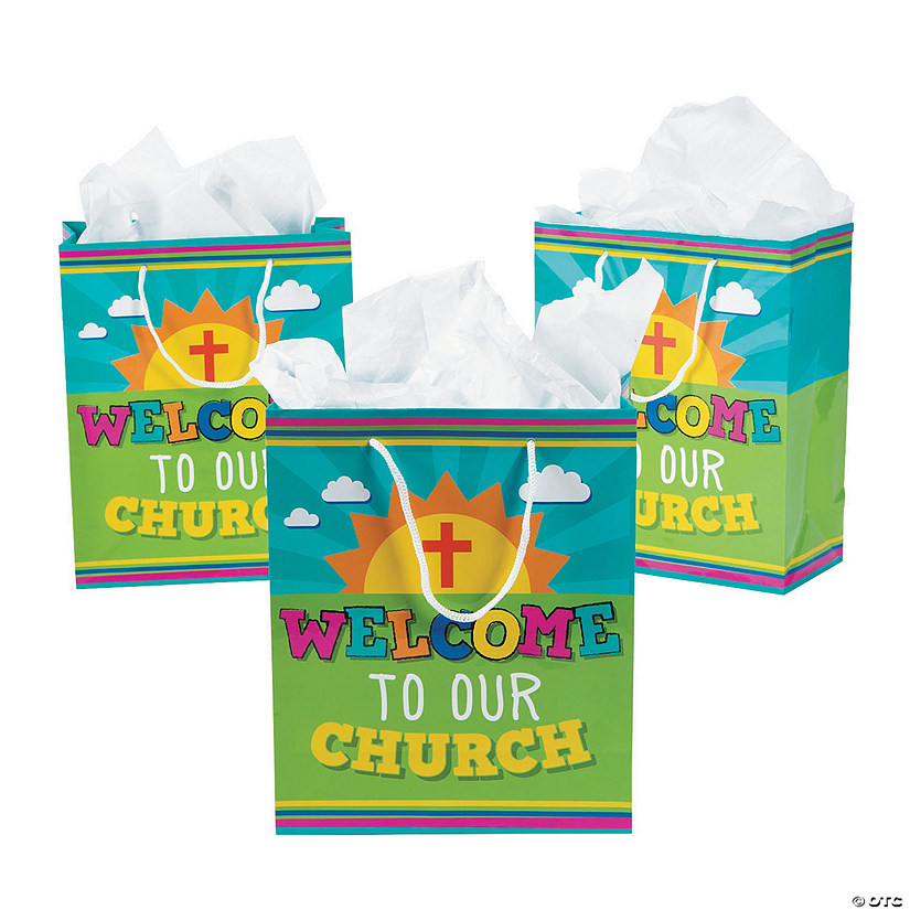 Welcome to Our Church Kids' Gift Bags