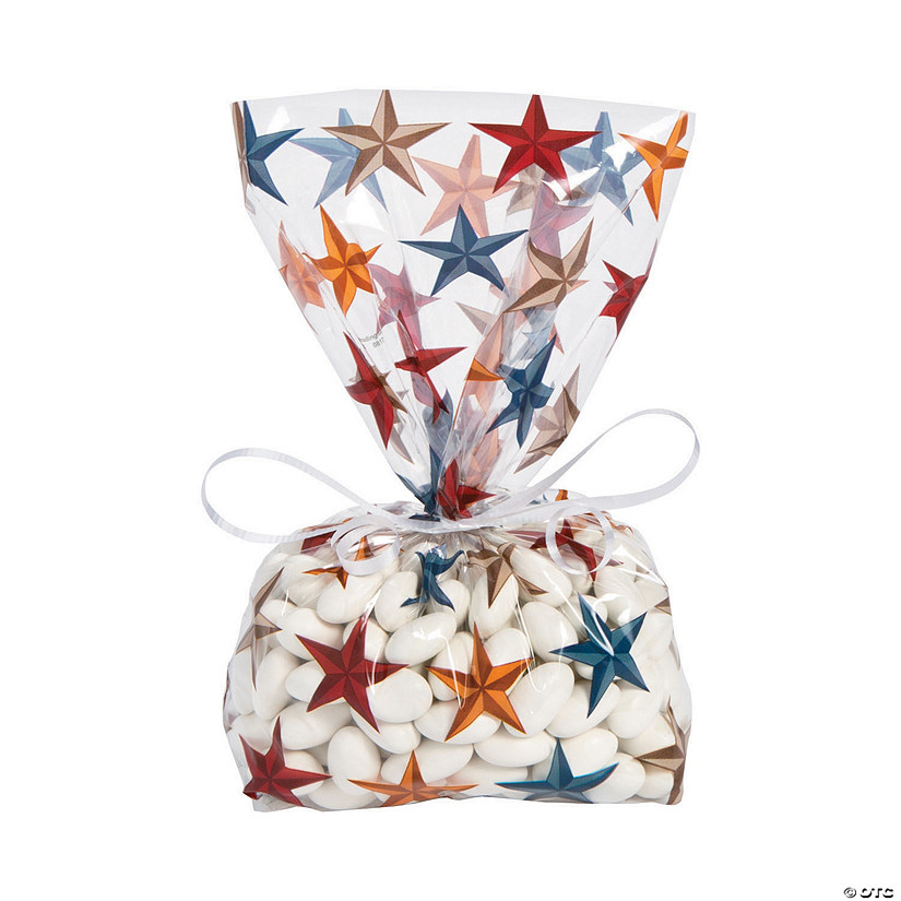 Western Barn Star Cellophane Bags
