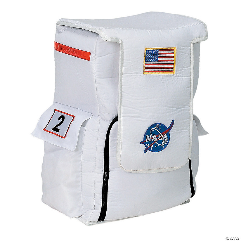 White Astronaut Back Pack