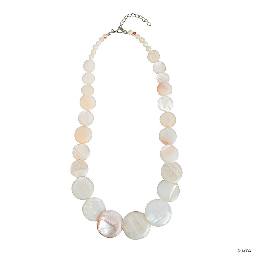 White Shell Necklace Craft Kit