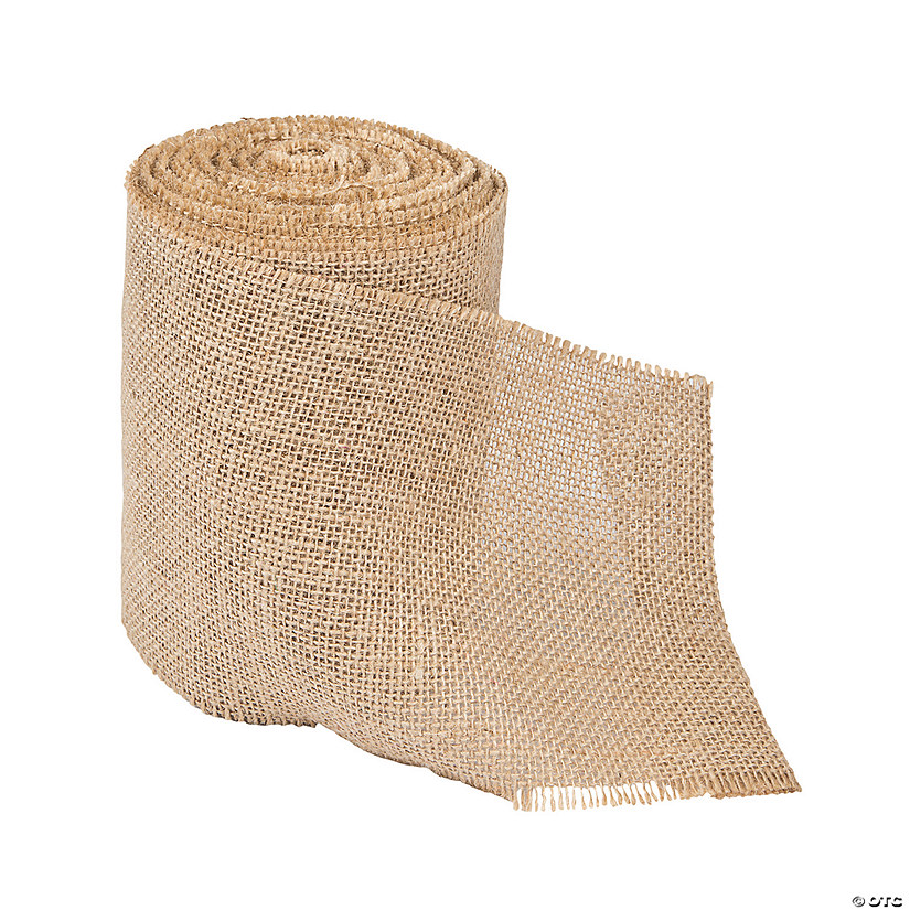 Wide Natural Burlap