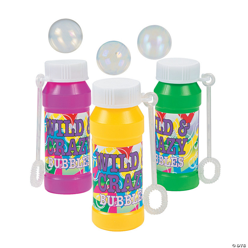 Wild & Crazy Bubble Bottles