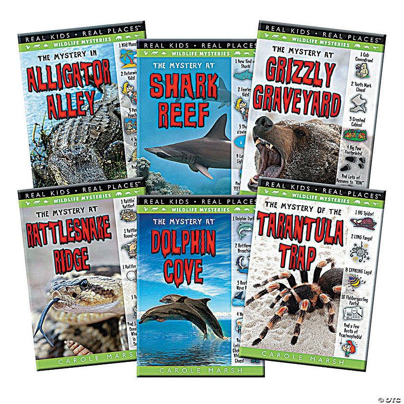 Wildlife Mysteries Book Set