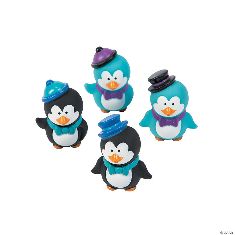 Winter Penguin Characters