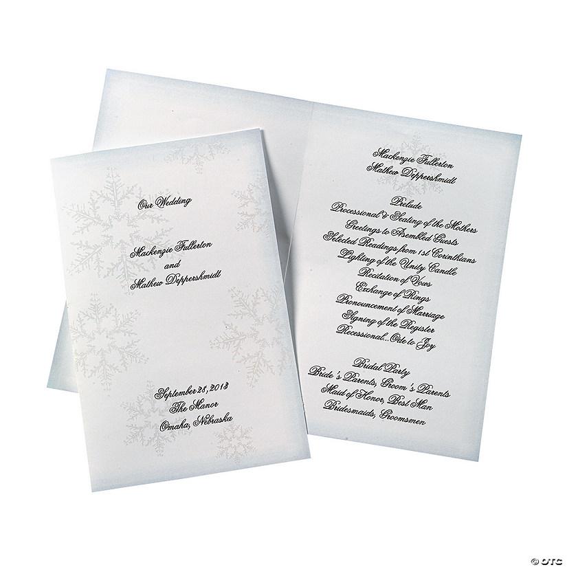winter wedding programs discontinued