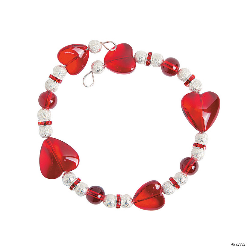 Wire Heart Bracelet Craft Kit