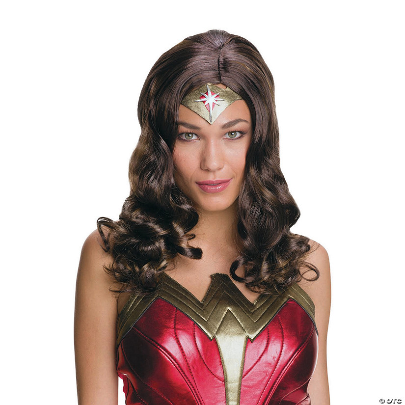 Women's Batman v Superman: Dawn of Justice™ Wonder Woman Wig